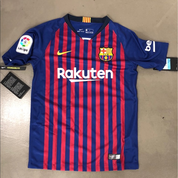 the latest 5482f 86dcc Lionel Messi Kids Med FC Barcelona Soccer Jersey NWT